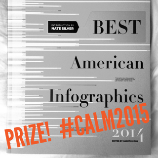 best american infographics - prize at CALM 2015
