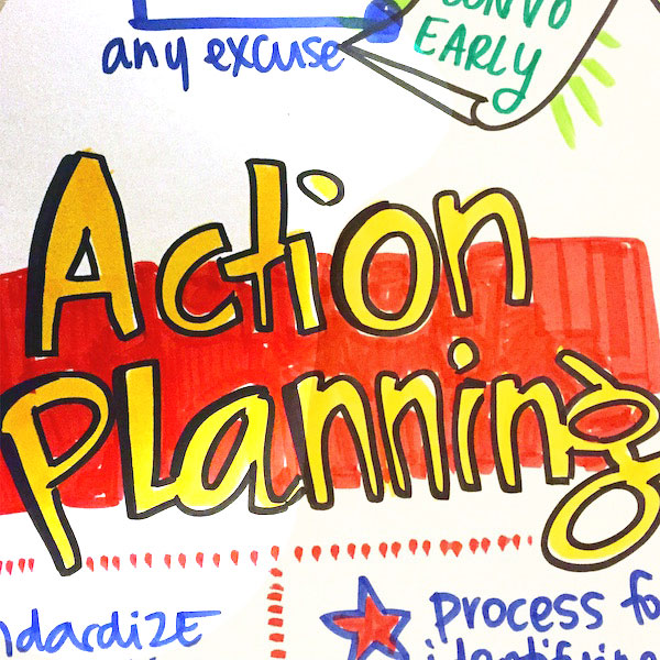 graphic facilitation for strategic planning