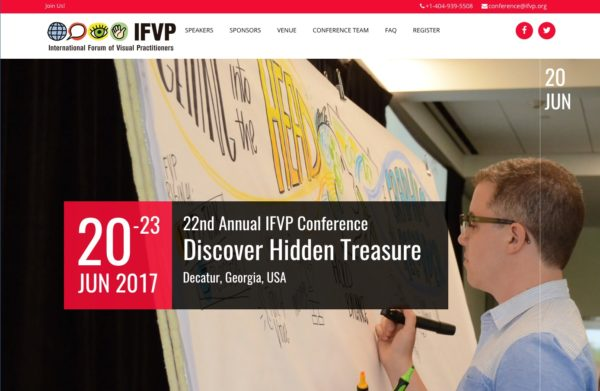 master class - graphic facilitation class 2017 with IFVP