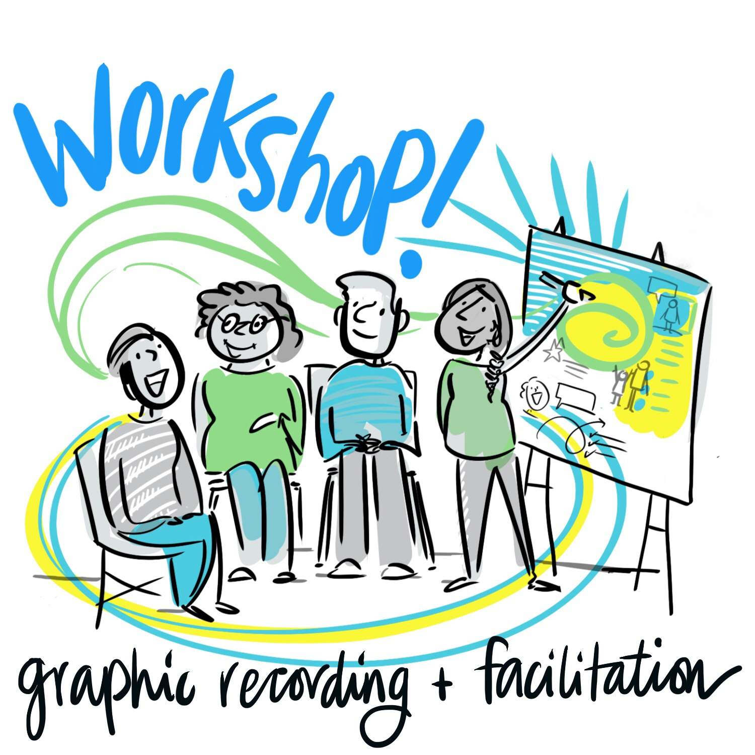 Graphic Recording And Facilitation Training Vancouver 2017